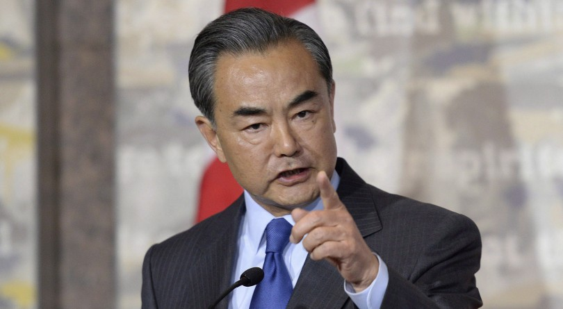 Wang Yi, China's minister of foreign affairs.
