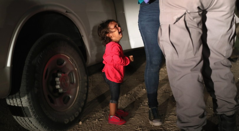 New 'Time' magazine cover shows Trump looking down at crying migrant child