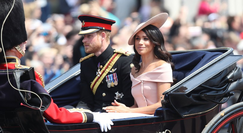 How Harry reassured 'nervous' Meghan during her first Trooping the Colour