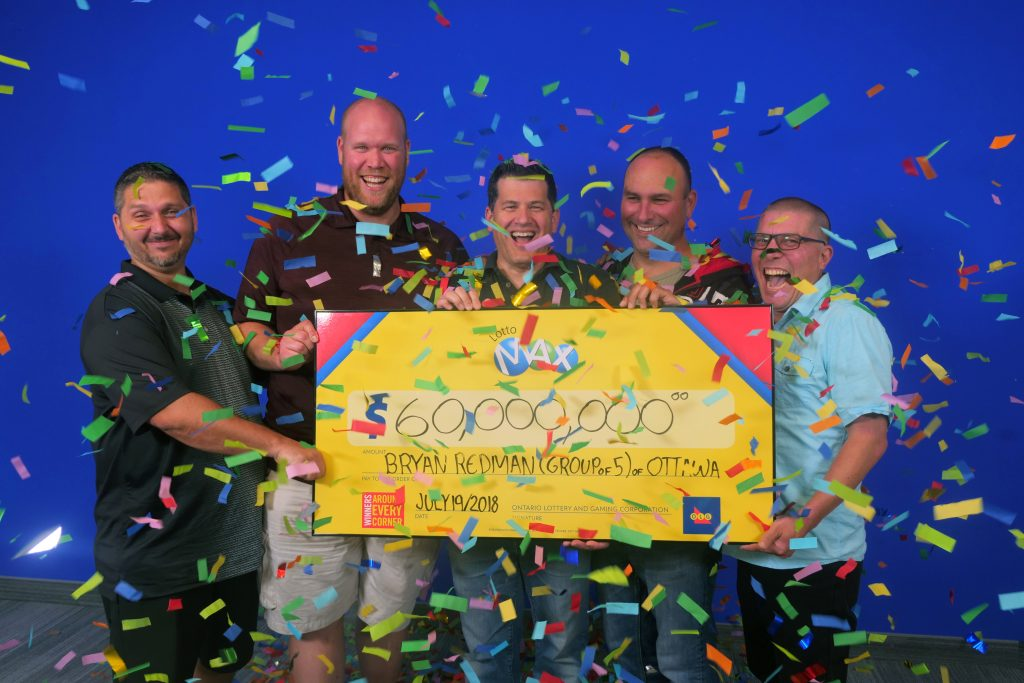 What happens when five friends win a life-changing lottery