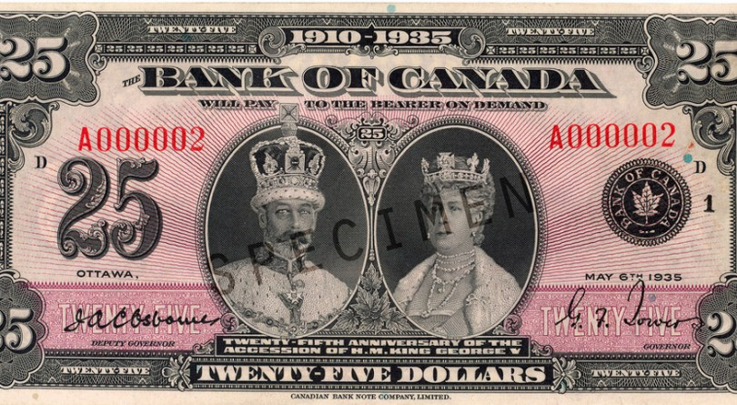 A fond farewell to Canada's little-known $25 bill