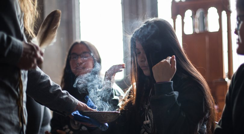 U of T's Indigenization efforts include smudging rooms and a dedicated web portal (Jesse Winter/Toronto Star/Getty Images)