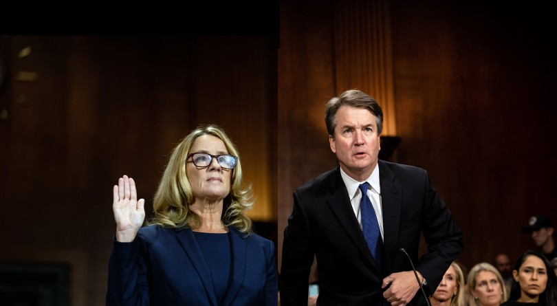 Image result for ford vs kavanaugh