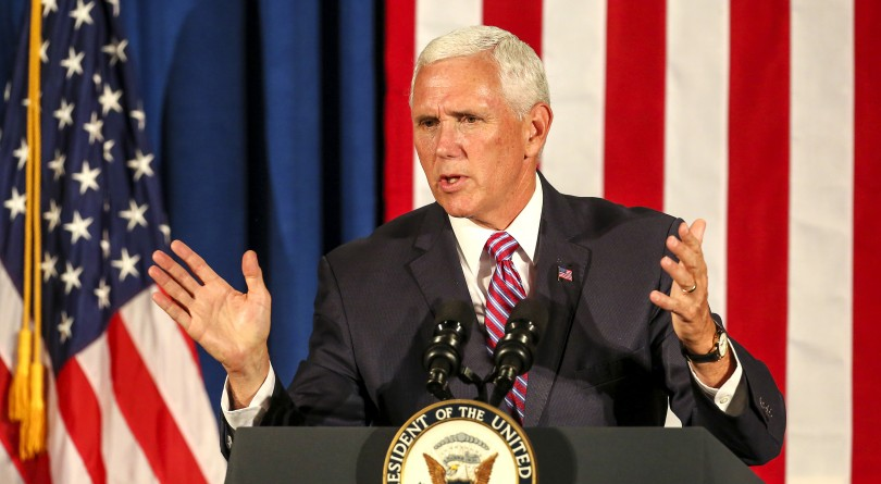 Pence confident no one on his staff wrote NY Times column