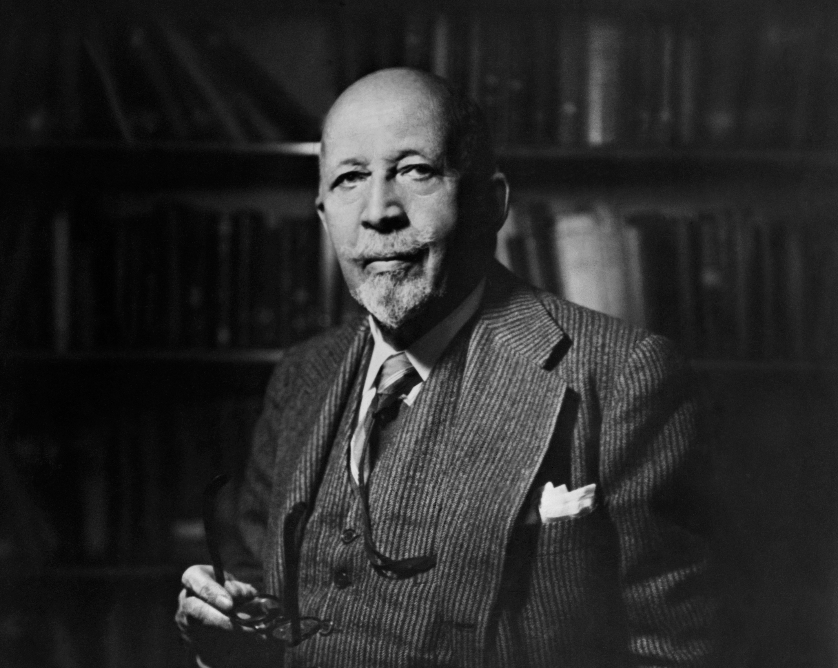 W e b du bois in an undated portrait getty images