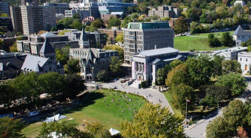 McGill campus exterior