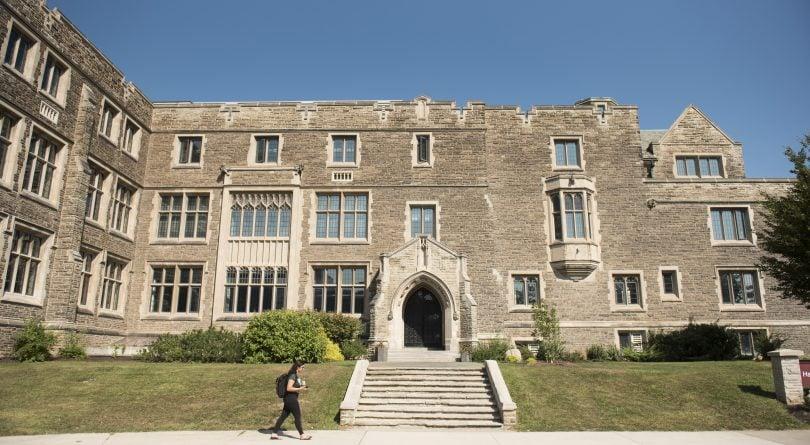 McMaster University campus exterior