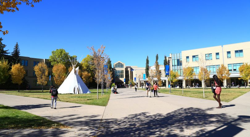Mount Royal University campus exterior