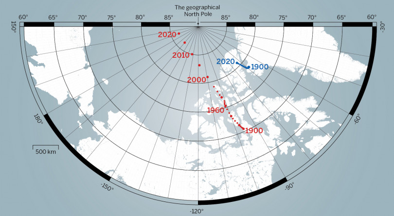 Say Goodbye Canada The North Pole Is Moving To Russia Macleans Ca