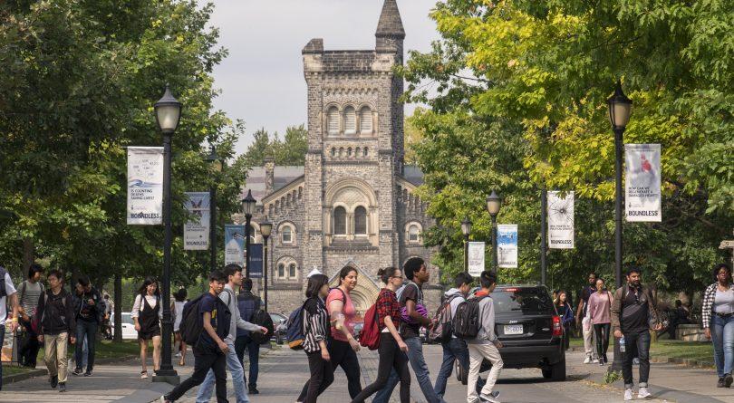 University of Toronto campus exterior