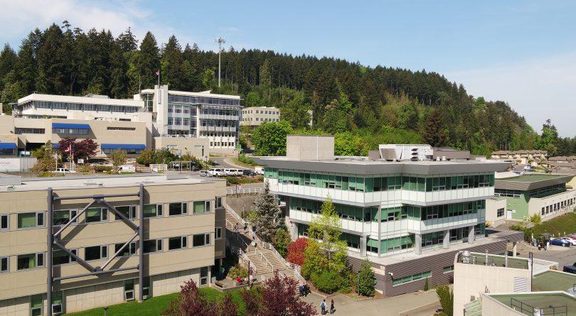 Vancouver Island University campus exterior