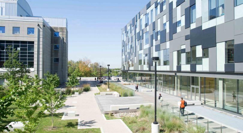 York University campus exterior