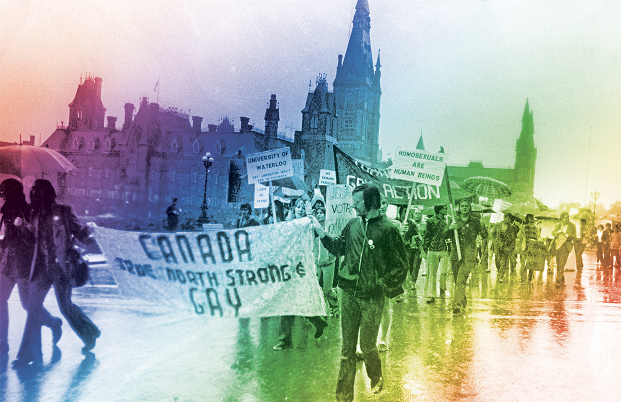 True north strong and gay: 50 years of gay rights in Canada