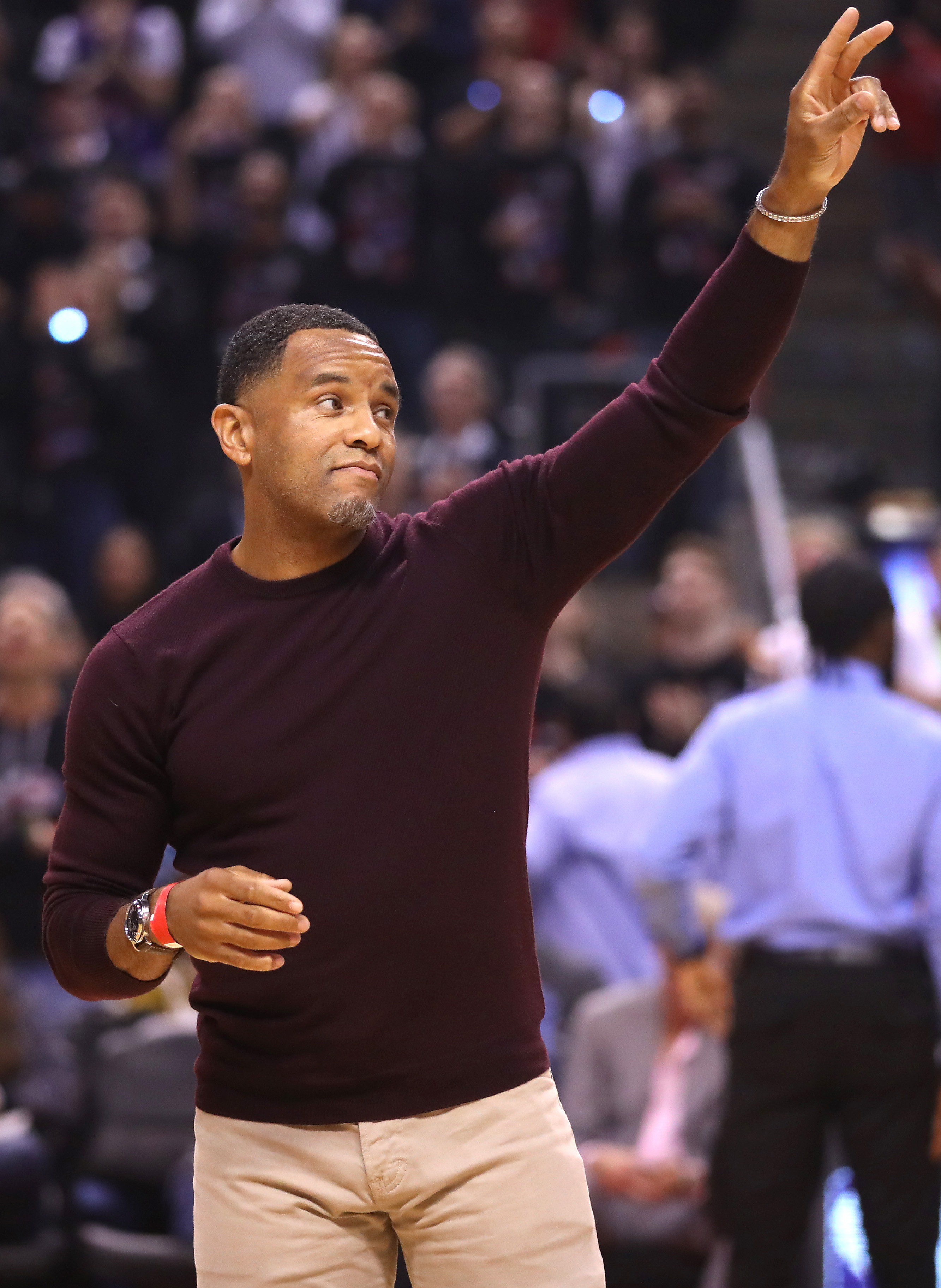 Damon Stoudamire on the Raptors' first game, the chilly SkyDome, and coming back to Toronto