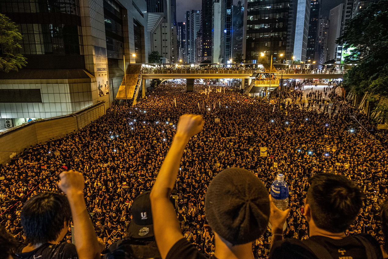 The Water Movement: Inside the fight for Hong Kong
