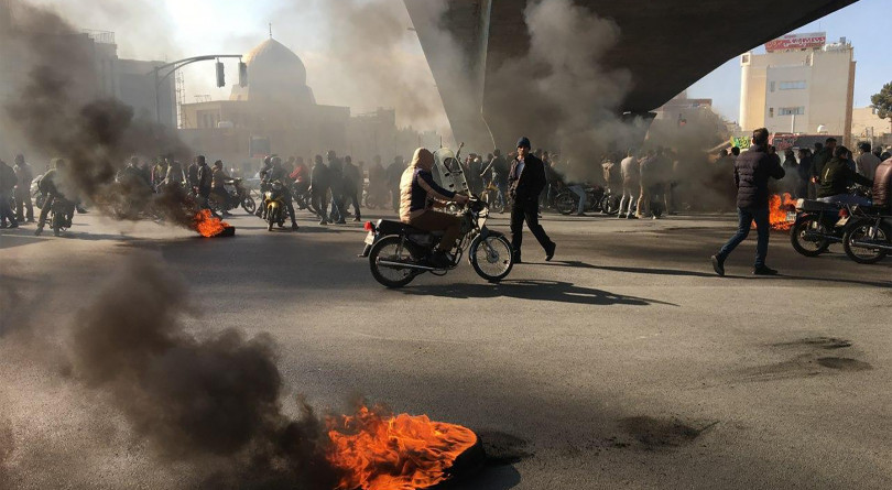 The uprising in Iran: 'These people have nothing to lose. They're fearless now.'
