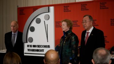 In denial about the Doomsday Clock? You're not alone.