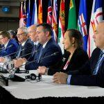 Canada's provincial premiers meet in Toronto, Ontario, Canada December 2, 2019. (Carlos Osorio/Retuers)