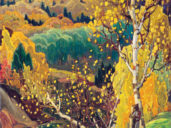October Gold, 1922 (Franklin Carmichael/McMichael Canadian Art Collection)