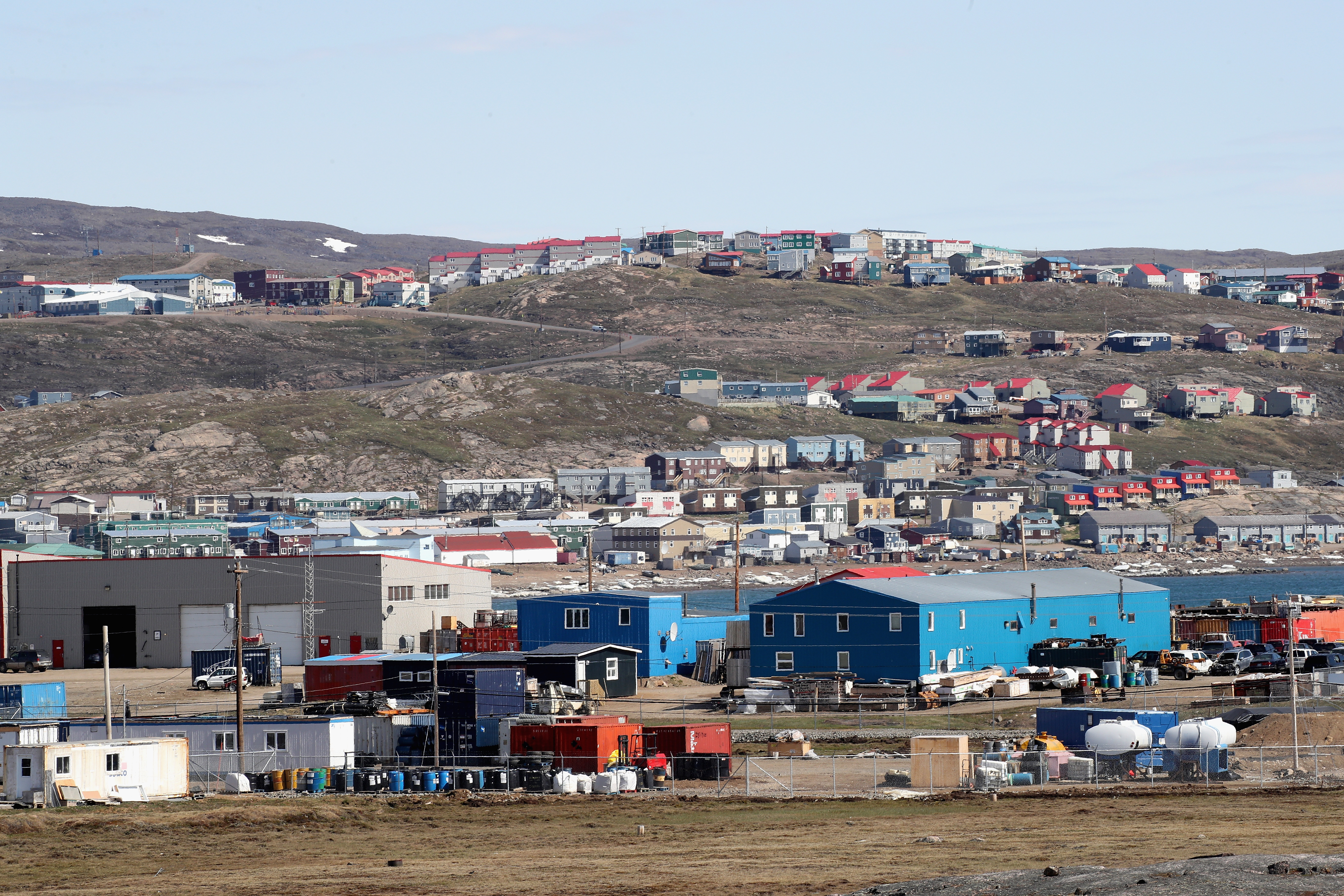 A view of Sylvia Grinnel Territorial Park in Iqaluit, Canada. (Photo by Chris Jackson/Getty Images)