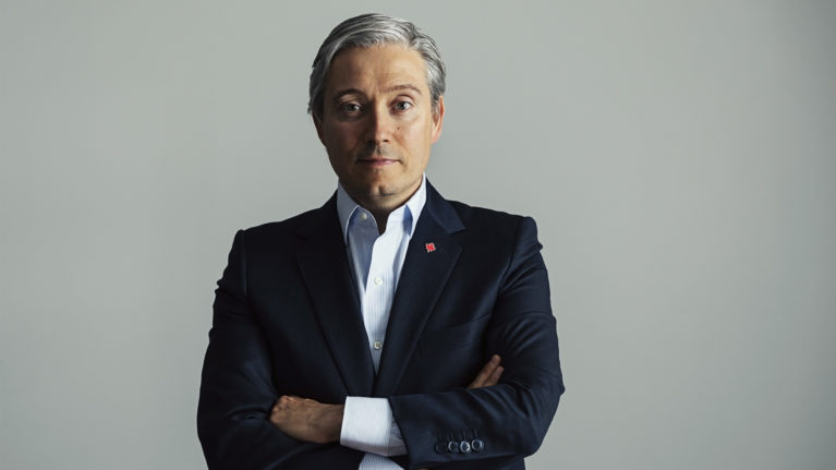 Minister of Foreign Affairs François-Philippe Champagne in his Shawinigan, QC, office. (Photograph by Sylvie Li)
