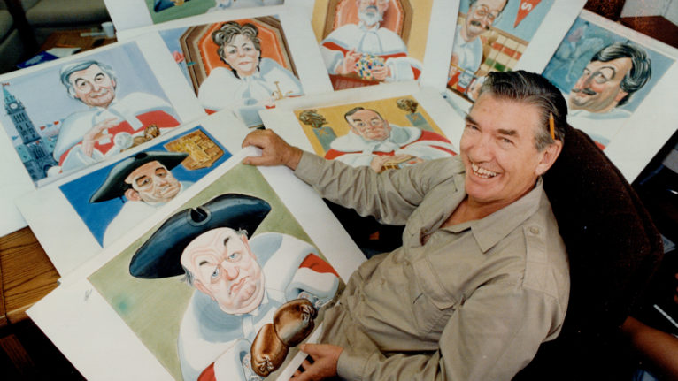Cartoonist Duncan MacPherson (Doug Griffin/Toronto Star via Getty Images)