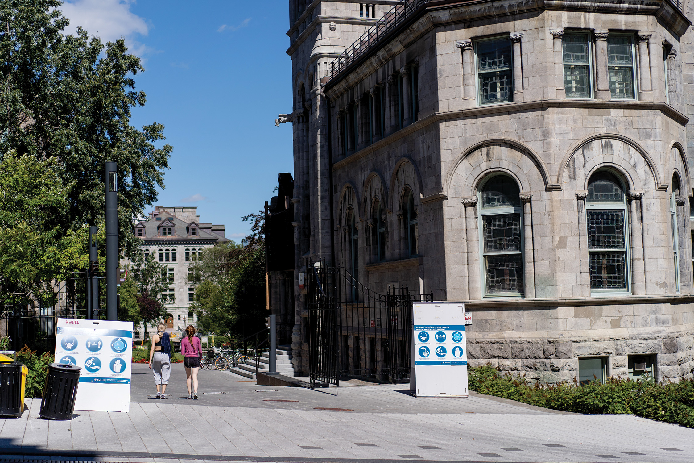At McGill, residence, food services and parking fees made up 15 per cent of operating revenue (Jessica Goodsell/McGill University)