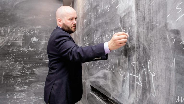 Professor Paul MacNichols of the department of mathematics and statistics at McMaster University. (Georgia Kirkos/McMaster University)