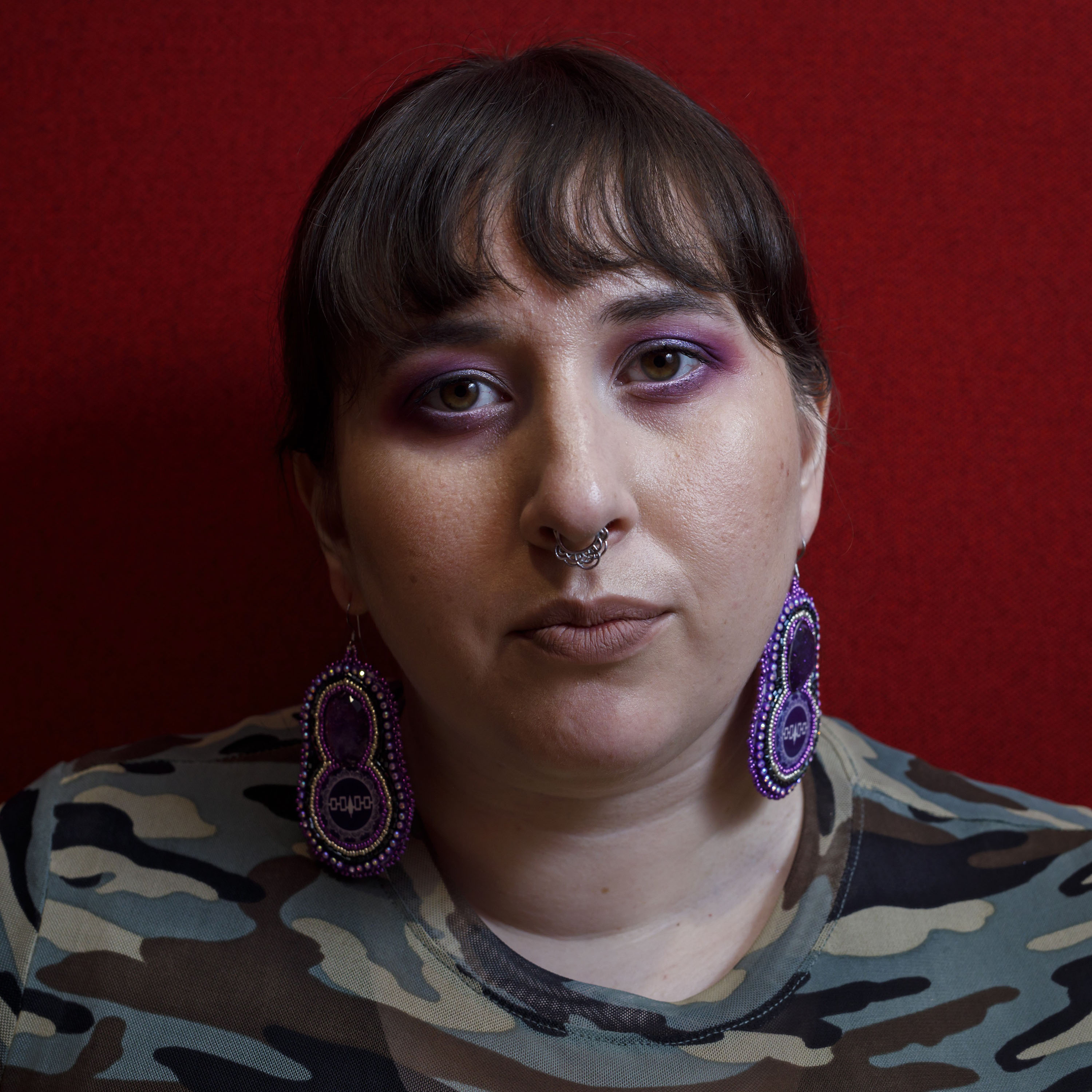 Haudenosaunee author Alicia Elliott poses for a portrait at the offices of Penguin Random House Canada, the publisher of her new book 'A Mind Spread Out on the Ground' in Toronto, Thursday, March 21, 2019. (Cole Burston/CP)