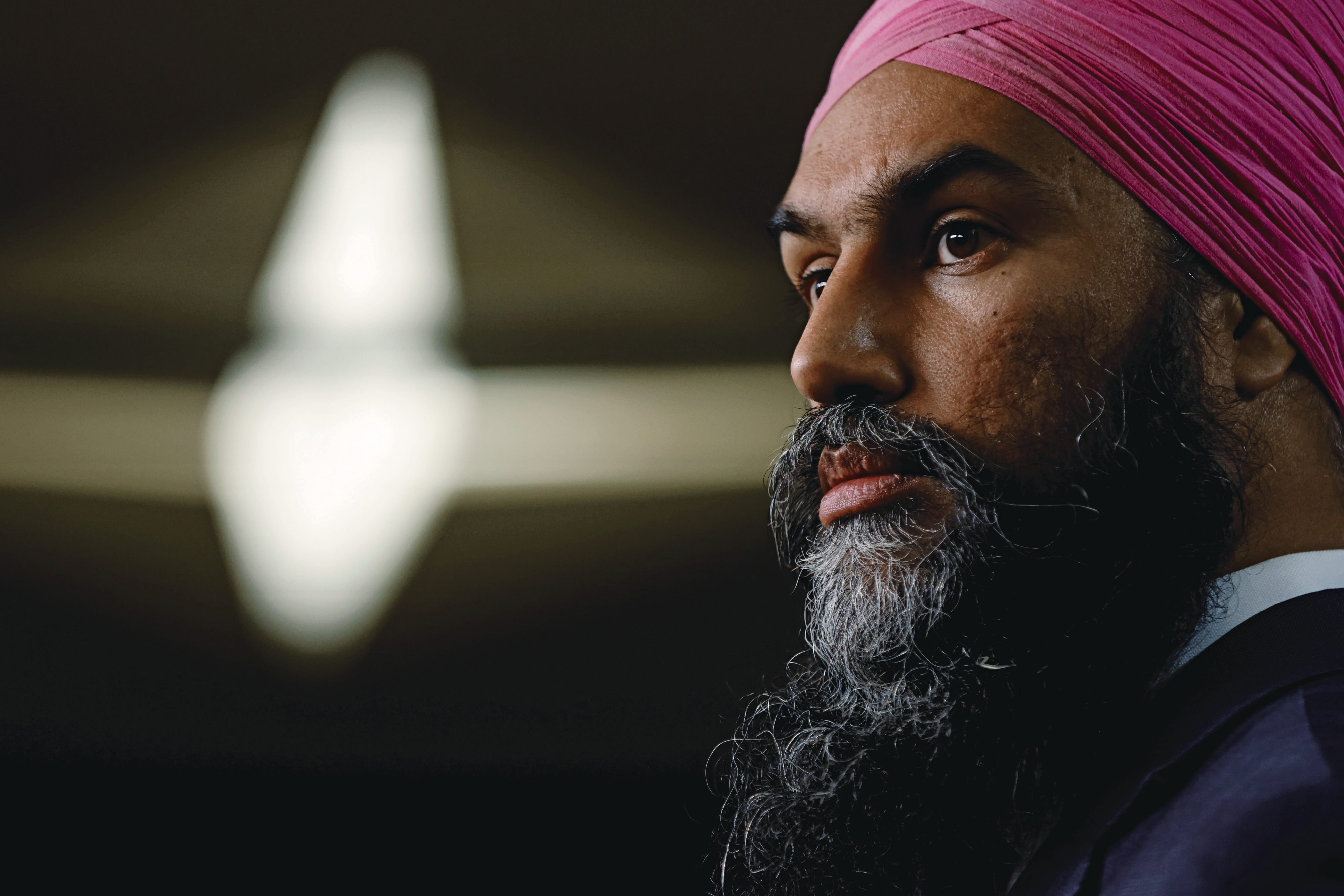 To preserve party members' support, Singh has to define himself beyond being a nice dude (Blair Gable/Reuters)