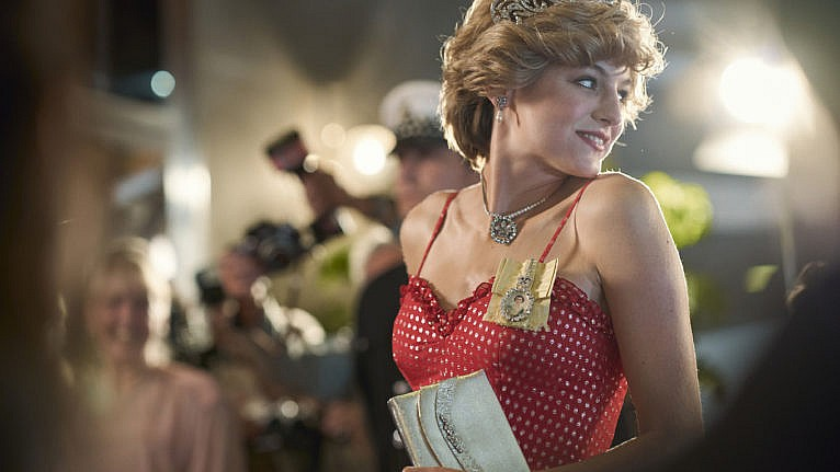 Diana Princess of Wales (EMMA CORRIN) in season 4 of The Crown. (Des Willie/Netflix)