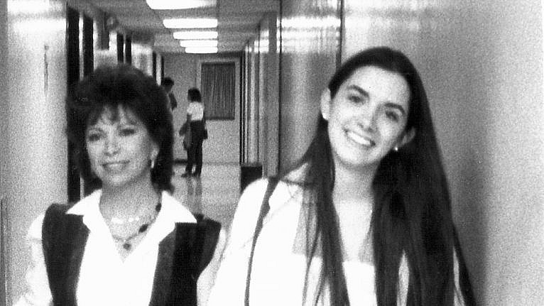 Isabel with her daughter, Paula (Courtesy of Isabel Allende)