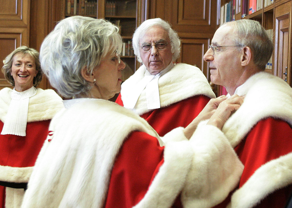 Retired Supreme Court justices