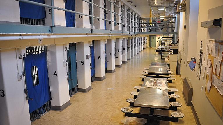 Medium security range at Stony Mountain Institution in Stony Mountain, Manitoba (Correctional Services Canada/Flickr)