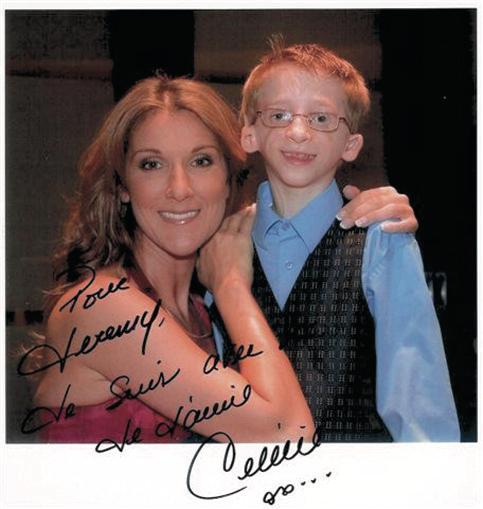 In 2006, Gabriel met Dion in Las Vegas (Facebook)