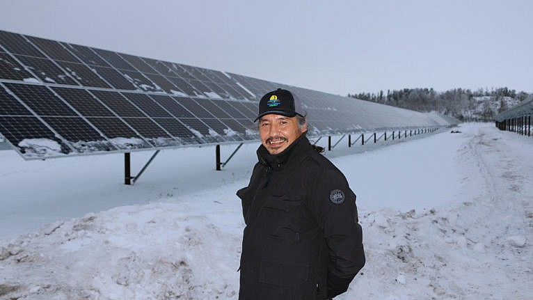 Chief Allan Adam, Athabasca Chipewyan First Nation (Courtesy of Nick Kendrick/Green Planet Energy Analytics/Green Energy Futures)
