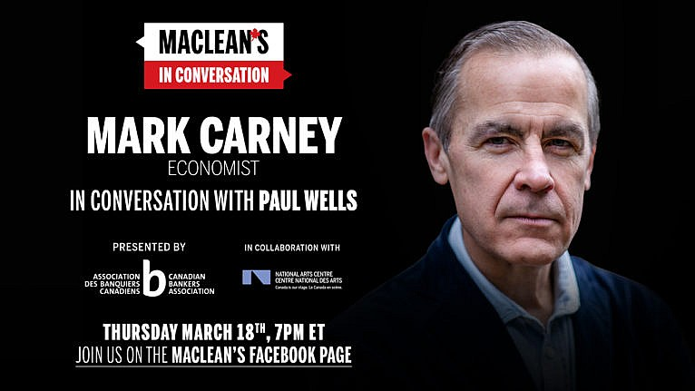 The former Bank of England and Bank of Canada governor is back in Ottawa with a new book. He discusses Brexit, the pandemic and more with Paul Wells. The post Mark Carney sits down with Paul Wells: Maclean's in Conversation appeared first on Macleans.ca.