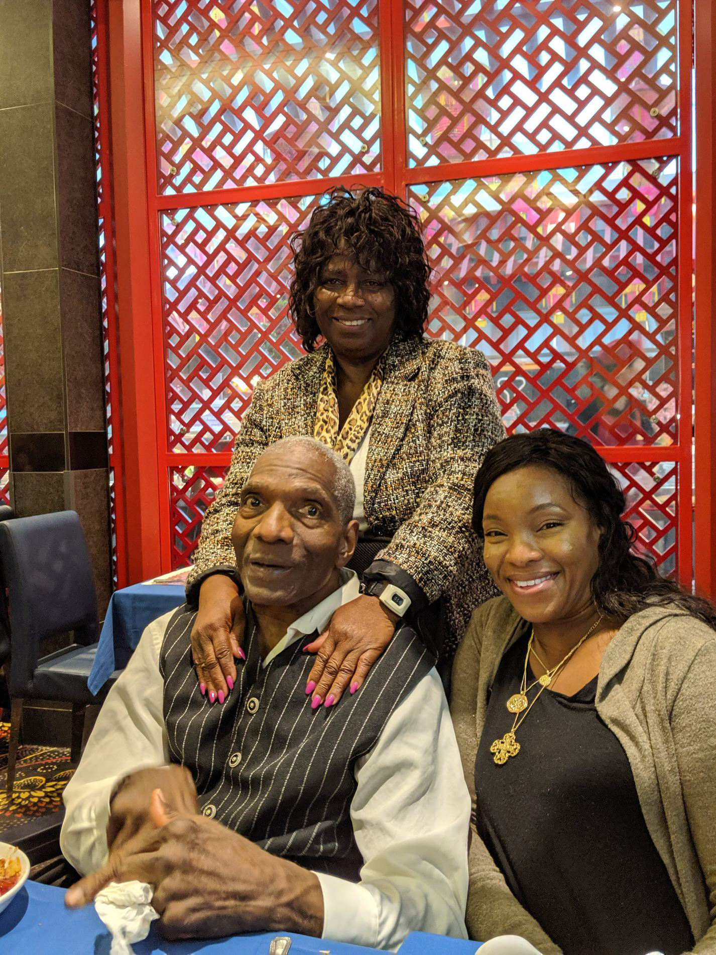 Christine Tappin and her mother took her father out of Orchard Villa for the evening to celebrate what would be his last birthday, on October 8, 2019.