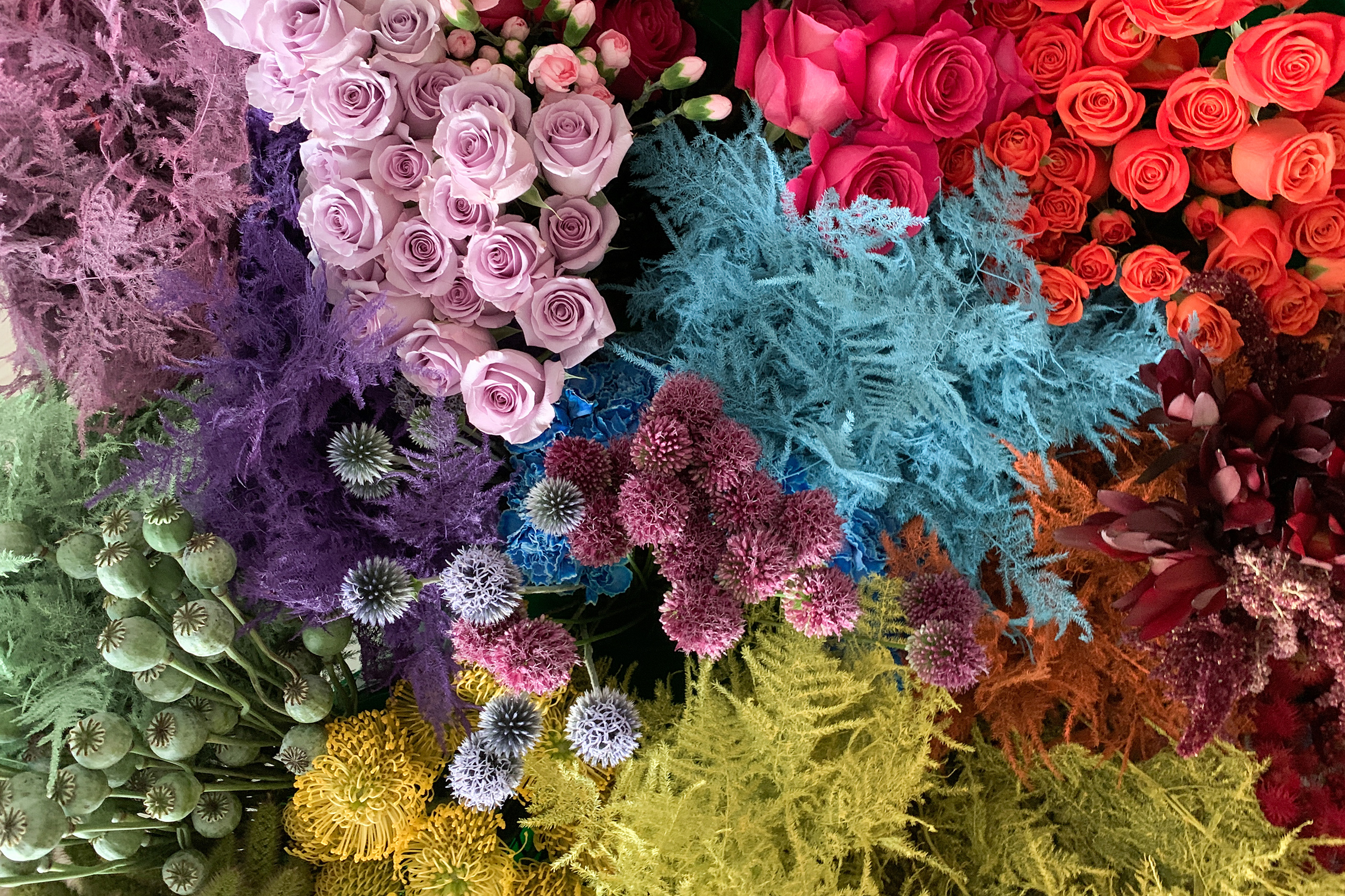 Flower gowns, anyone? These trends are giving floristry new life