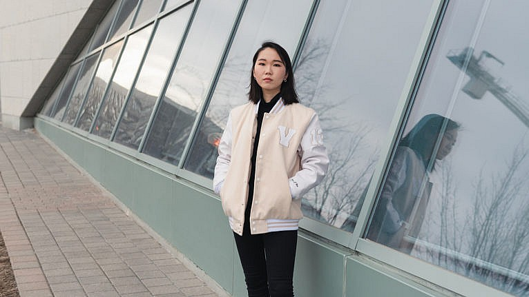Tess Jieun Ha (Photograph by Lucy Lu)