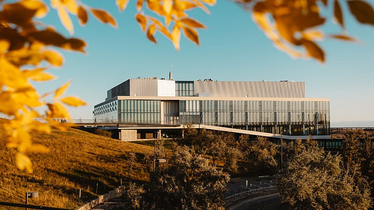 University of Lethbridge campus in the fall