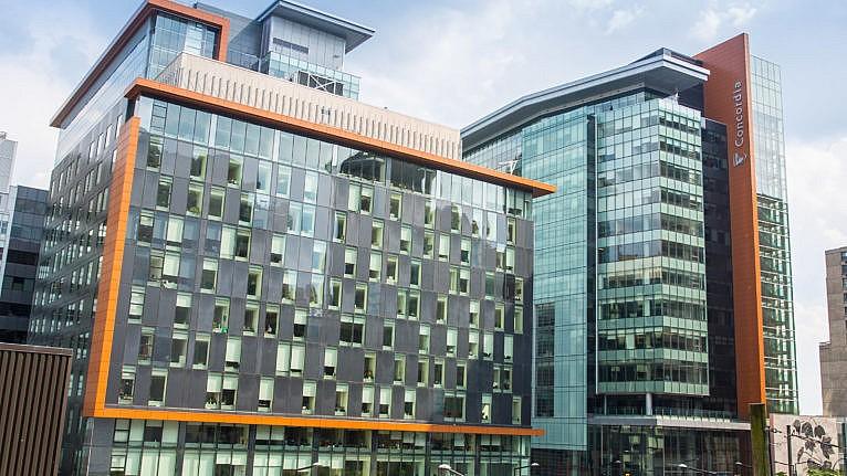 Concordia University building exterior
