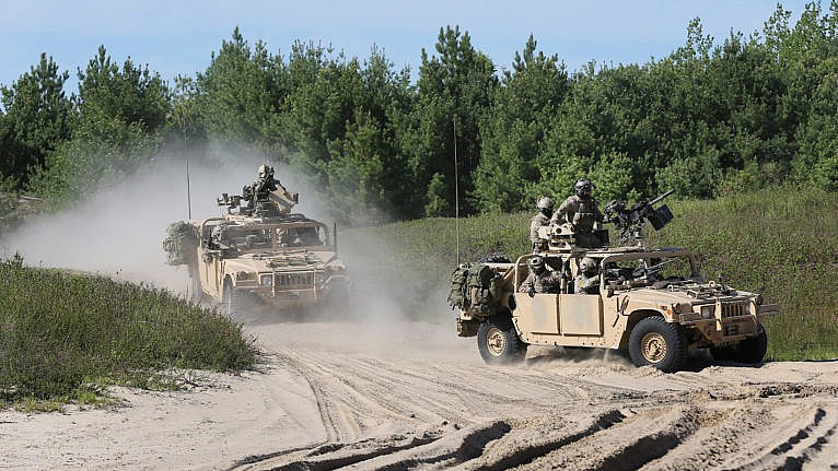 Newer members of CSOR (Canadian Special Operations Regiment) take part in a live-fire culminating drill after 8 months of training. (Richard Lautens/Toronto Star/Getty Images)