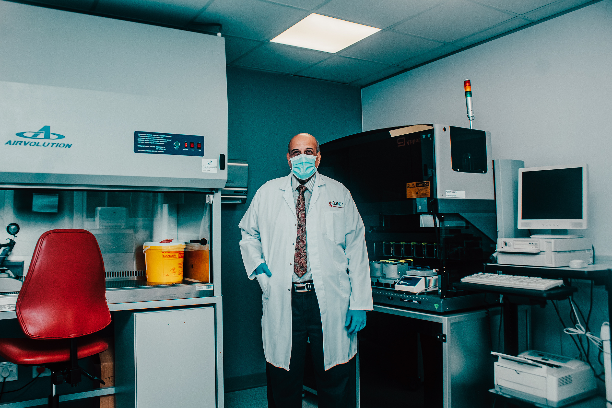 Abdool Karim is a renowned researcher who has been called South Africa's Anthony Fauci (Photograph by Teddy Msomi)