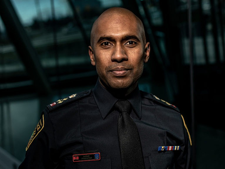Police chief Duraiappah released a statement expressing his personal regret over Darian's death (Photograph by Carlos Osorio)
