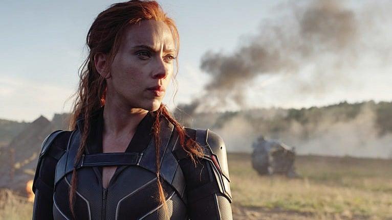 Film frame from Marvel Studios' 'Black Widow,' starring Scarlett Johansson. (Courtesy of Marvel Studios)