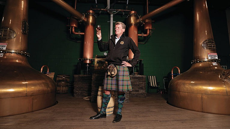 Macaloney launched his own distillery in Victoria in 2016 and was soon winning top awards—but then the Scotch Whiskey Association filed suit (Photograph by Libby Oliver)