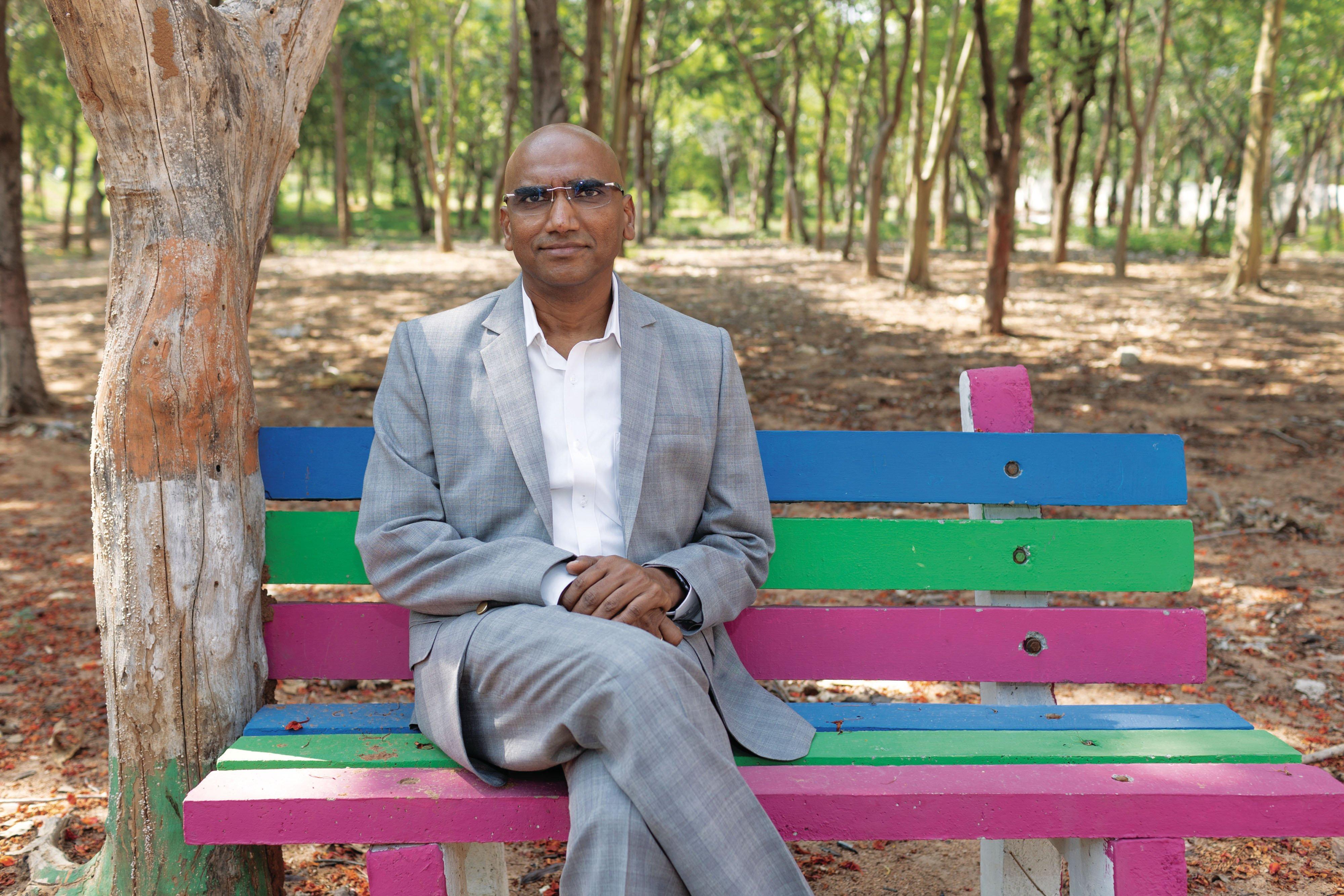 Dr. RS Praveen Kumar. (Photograph by Sanjay Borra)