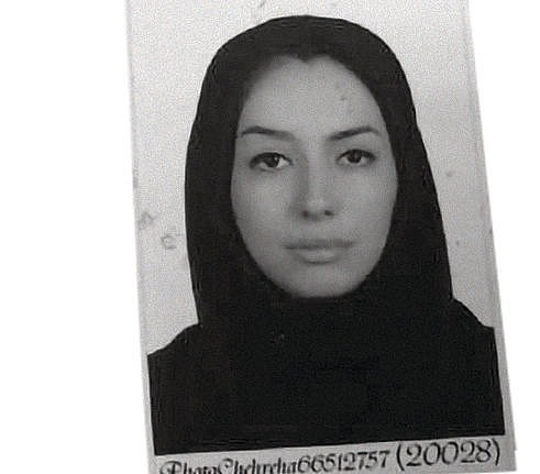 Image of Mahnaz Alizadeh from page 169 of the Brazilian police processing document.