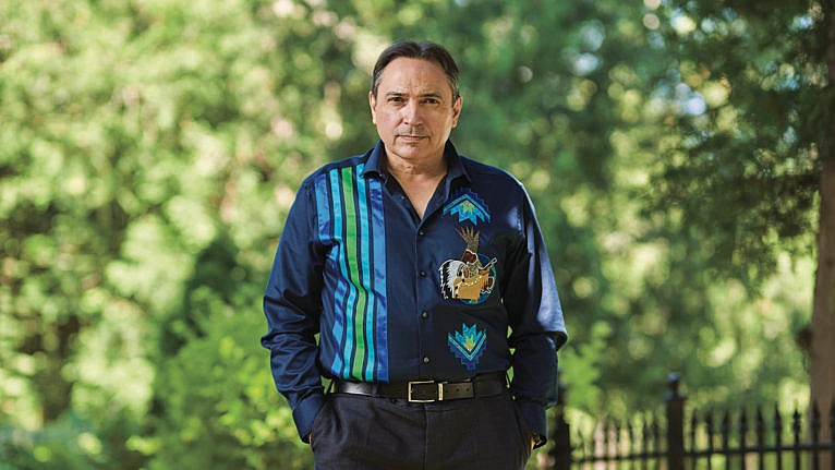 National Chief Perry Bellegarde. (Photograph by Jessica Deeks)